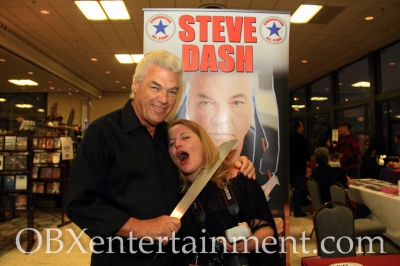 OBXentertainment.com Editor in Chief Sue Artz gets caught by Steve Dash, who played Jason Voorhees in 'Friday the 13th Part 2'!