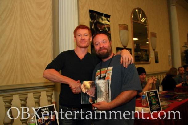 Zack Ward , who played Scut Farkus in 'A Christmas Story', with OBXenterainment.com Editor in Chief Matt Artz