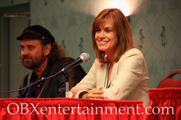 'The Last Starfighter' stars Lance Guest and Catherine Mary Stewart in Virginia Beach, Nov. 10, 2012.