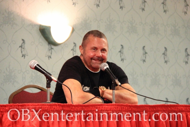 Kane Hodder at the 'Friday the 13th' panel at Blood at the Beach, Nov. 11, 2012 in Virginia Beach. (photo: OBXentertainment.com)