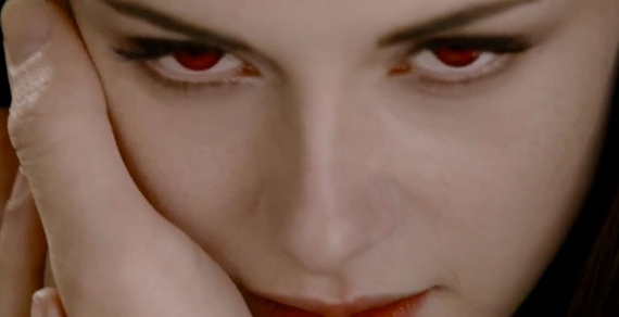 Kristen Stewart sees red in 'The Twilight Saga: Breaking Dawn Part 2'.