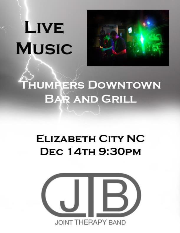 Joint Therapy at Thumper's - Dec. 14, 2012