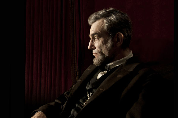 Daniel Day-Lewis stars in 'Lincoln', filmed in Richmond, Virginia.