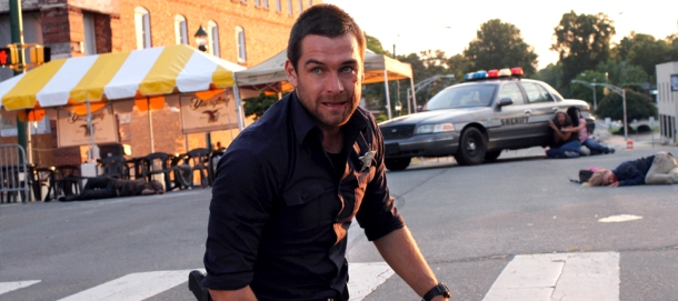 Antony Starr is Lucas Hood in Cinemax's 'Banshee', filmed in Charlote, NC.