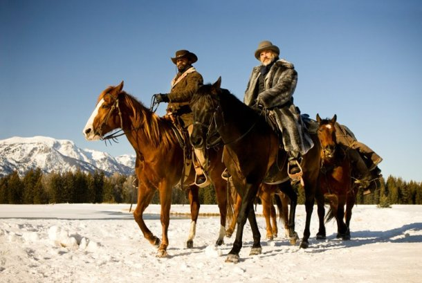 Jamie Foxx and Christoph Waltz are bounty hunters in 'Django Unchained'.