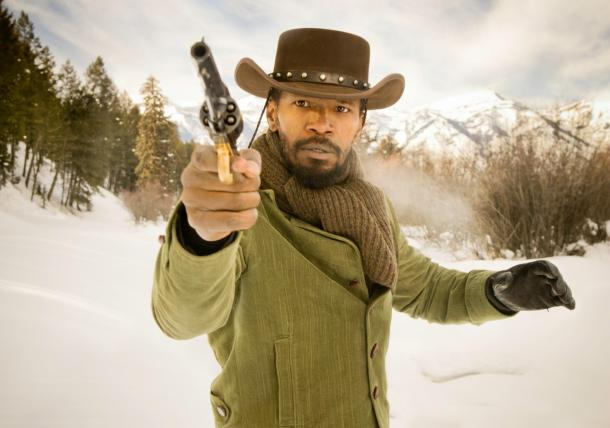 Jamie Foxx is 'Django Unchained' in the new film from Quentin Tarantino.