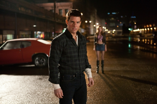 Tom Cruise is 'Jack Reacher'.