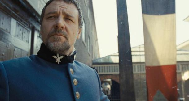 Russell Crowe stars in 'Les Miserables'.