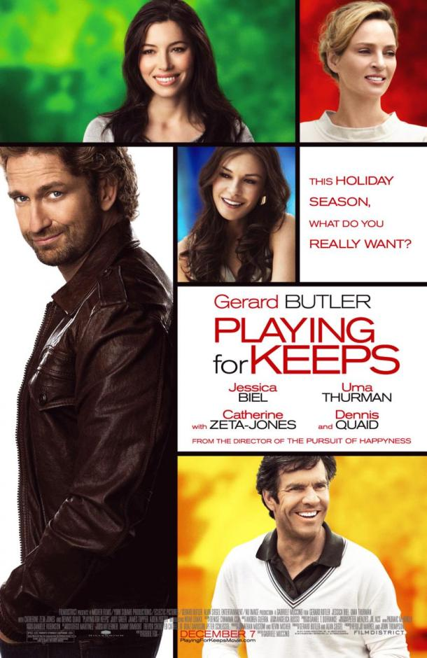 Playing for Keeps - poster