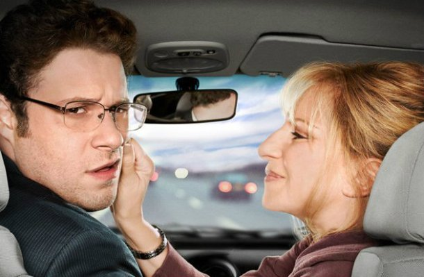 Seth Rogen and Barbra Streisand star in 'The Guilt Trip'.
