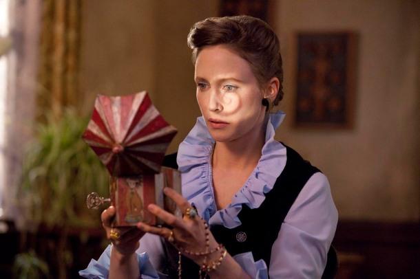 Vera Farmiga stars in 'The Conjuring', filmed in Wilmington, North Carolina.