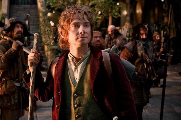 Martin Freeman is Bilbo Baggins in 'The Hobbit: An Unexpected Journey'.