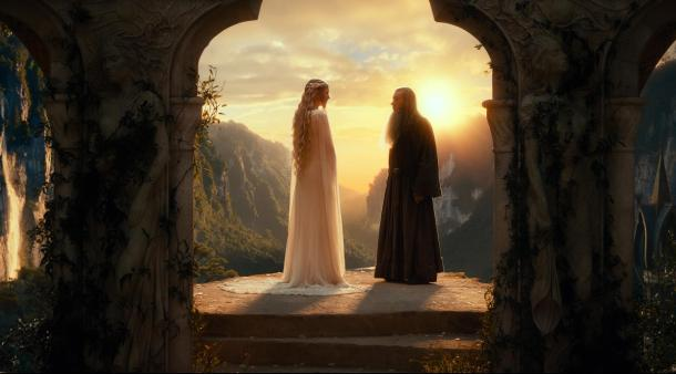 Cate Blanchett and Ian McKellen return to Middle-earth in 'The Hobbit: An Unexpected Journey'.