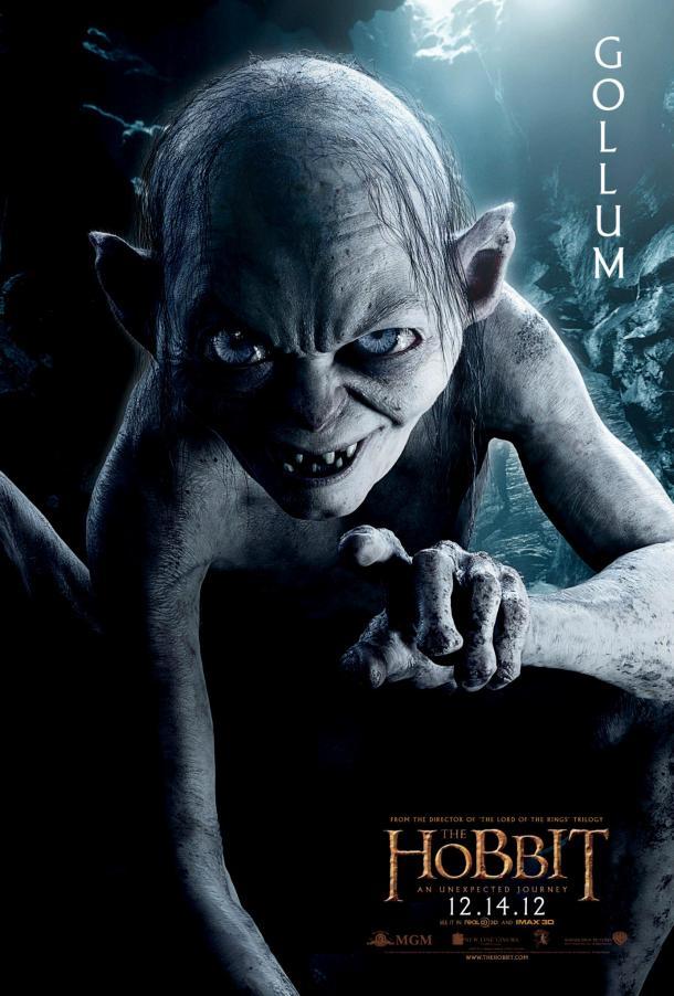 The Hobbit - Gollum poster