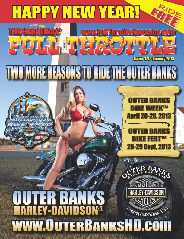 Full Throttle Magazine - January 2013 - Bike Week