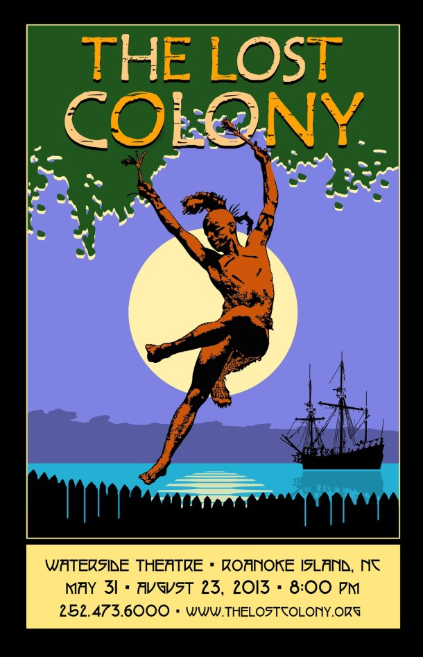 The Lost Colony - 2013 poster
