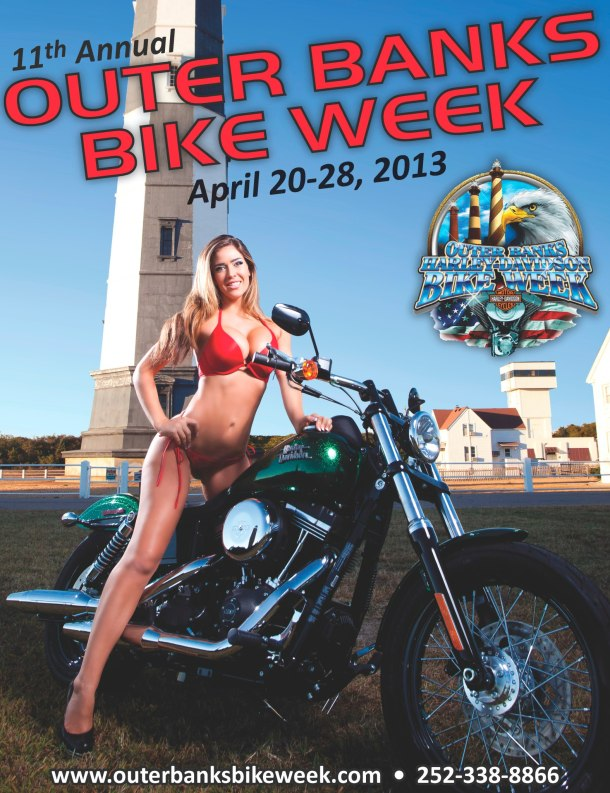 Outer Banks Bike Week 2013 poster