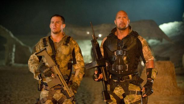 Channing Tatum and Dwayne Johnson star in 'G.I. Joe: Retaliation'.