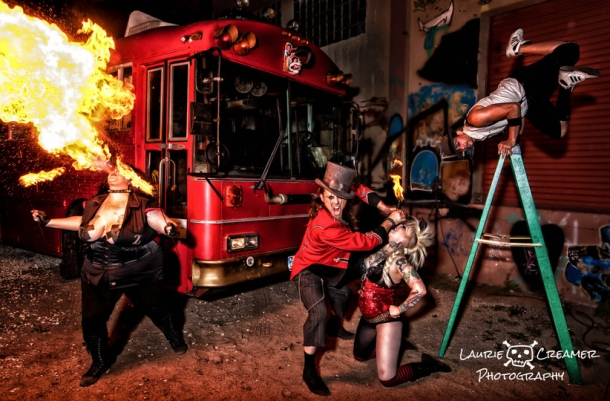 Hellzapoppin Circus Sideshow Revue (photo by Lorie Creamer)