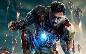 Iron Man 3 - poster - crop