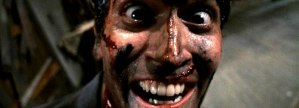 Bruce Campbell is Ash in 'Evil Dead II', filmed in Wadesboro, North Carolina