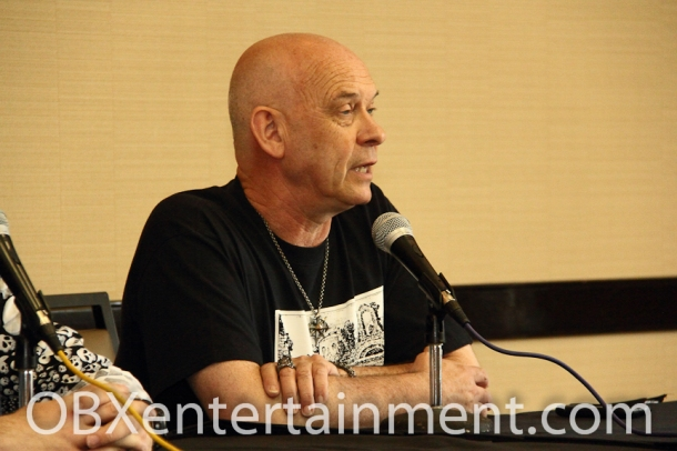 'Hellraiser' star Doug Bradley (Pinhead) at Blood at the Beach III in Virginia Beach, VA, May 11, 2013.