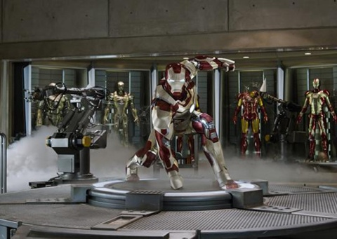 Iron Man returns in Marvel's 'Iron Man 3'.
