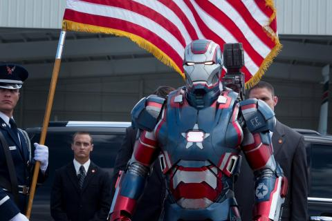'Iron Man 3' introduces Iron Patriot.