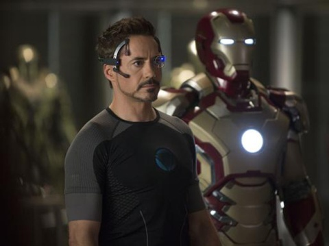 Robert Downey Jr. is Tony Stark in 'Iron Man 3'.