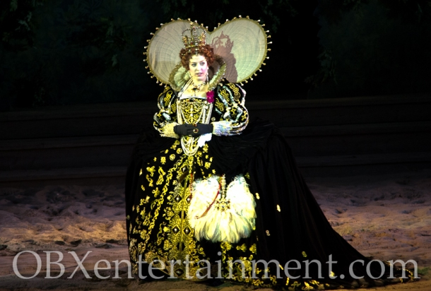 Diana Cameron McQueen is Queen Elizabeth I in 'The Lost Colony' (photo: OBXentertainment.com)