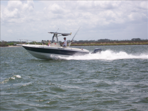 Outer Banks Fishing Charters' Storytail.