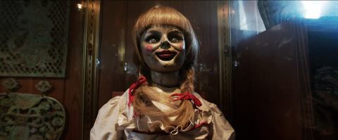 Annabelle haunts 'The Conjuring'.