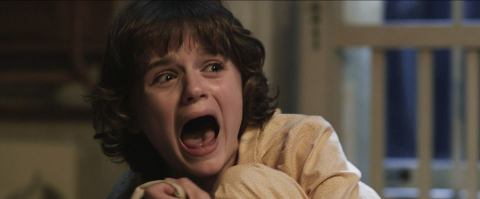 Joey King is terrified by 'The Conjuring'.