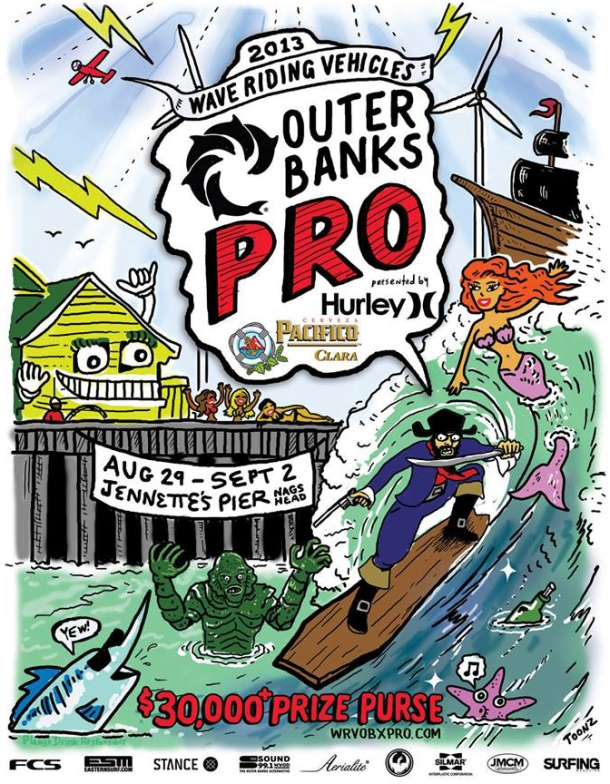 Outer Banks Pro 2013 - poster