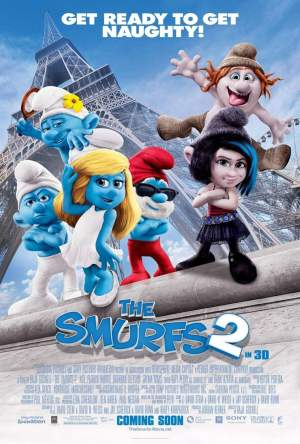 The Smurfs 2 - poster