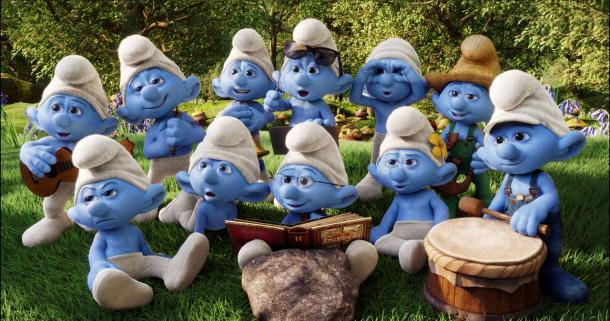 The Smurfs return in a very smurfy sequel.
