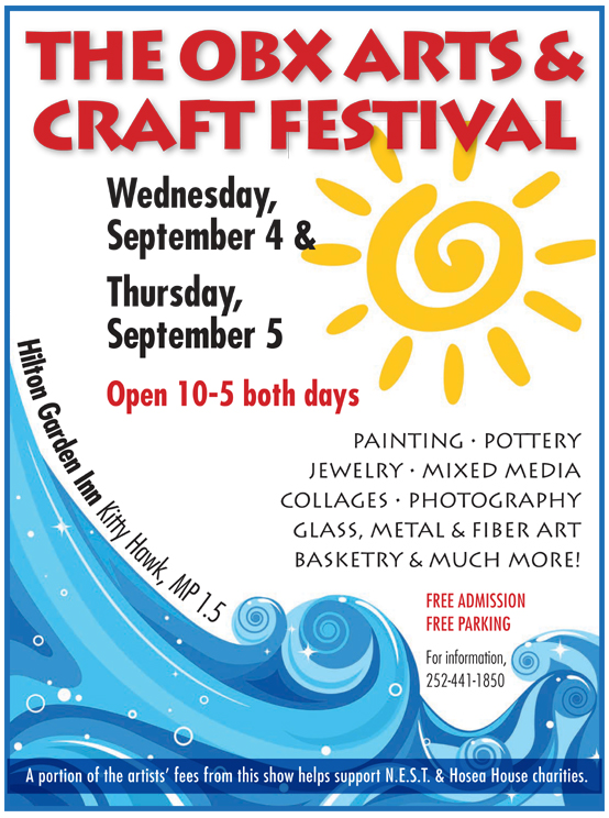 OBX Arts and Craft Festival - flyer