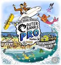 The 2014 Outer Banks Pro surfing contest returns to Jennette's Pier in Nags Head on Labor Day Weekend, Aug. 27-Sept. 1!