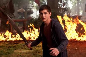 Logan Lerman stars in 'Percy Jackson and the Sea of Monsters'.