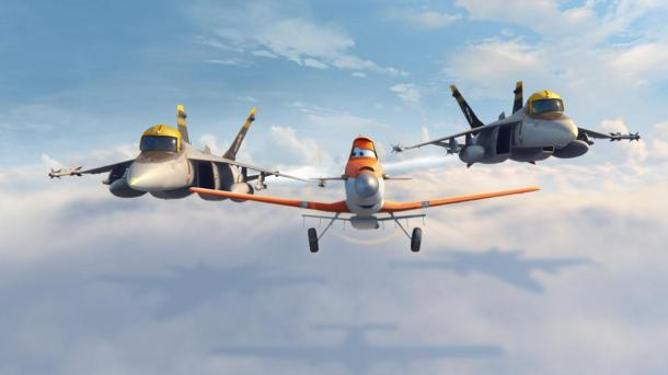 Disney's 'Planes' fly into theaters.