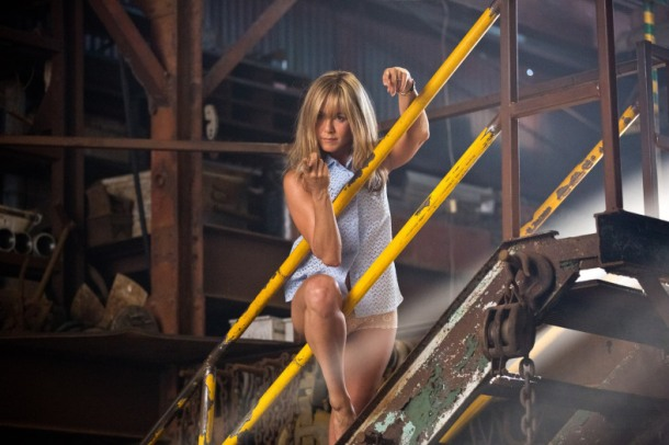 Jennifer Aniston stars in 'We're the Millers', filmed in Wilmington, North Carolina.