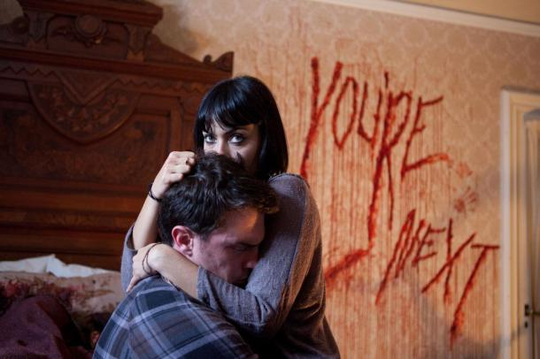 The writing's on the wall in 'You're Next'.