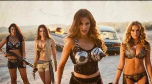 Sofia Vergara breaks out the big guns in 'Machete Kills'.