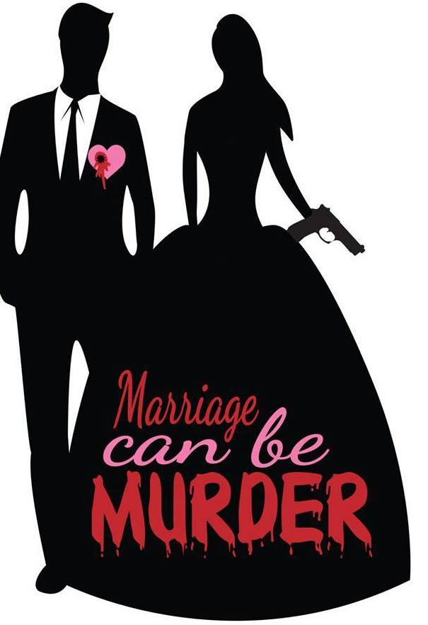 'Marriage Can Be Murder' Mystery Dinner Poster