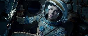 Sandra Bullock gives the performance of her career in 'Gravity'.