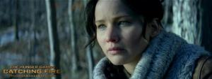 Jennifer Lawrence plays 'The Hunger Games' again in 'Catching Fire'.