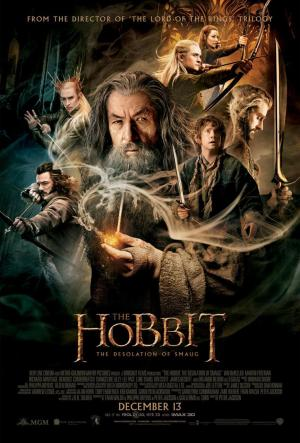 'The Hobbit: The Desolation of Smaug' Movie Poster