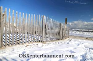 Outer Banks Snow Day, January 22, 2014 (photo: OBXentertainment.com)