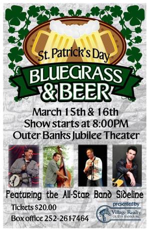 Beer and Bluegrass at Outer Banks Jubilee - March 15-16
