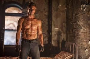 Aaron Eckhart is the 'Frankenstein' monster.